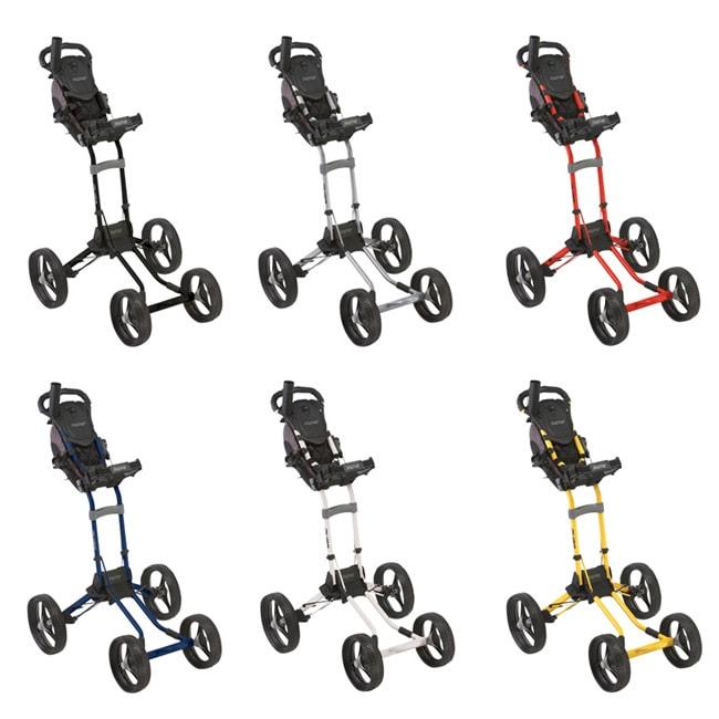 Bag Boy Quad 4 Wheels Golf Push Cart