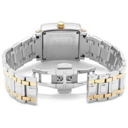 Swiss Legend Women's Colosso Black Mother Of Pearl Dial Two-Tone Watch