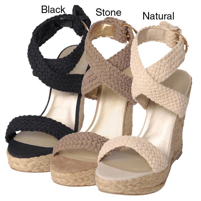 Journee Collection Women's 'Jojo-s' Espadrilles Wedge Sandals