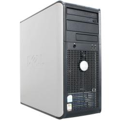 Dell Optiplex 745 3.4GHz 80GB Desktop Computer with 17-inch Monitor (Refurbished)