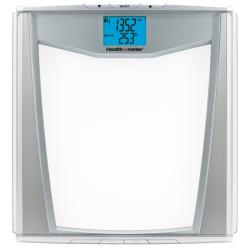 Healthometer Body Fat/ Daily Caloric Intake/ Athlete Mode/ BMI/ Hydration Level Glass Scale