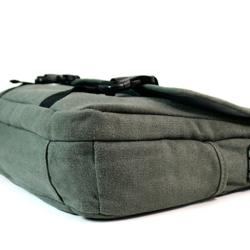 Kroo Canvas 15.6-inch Laptop Messenger Bag