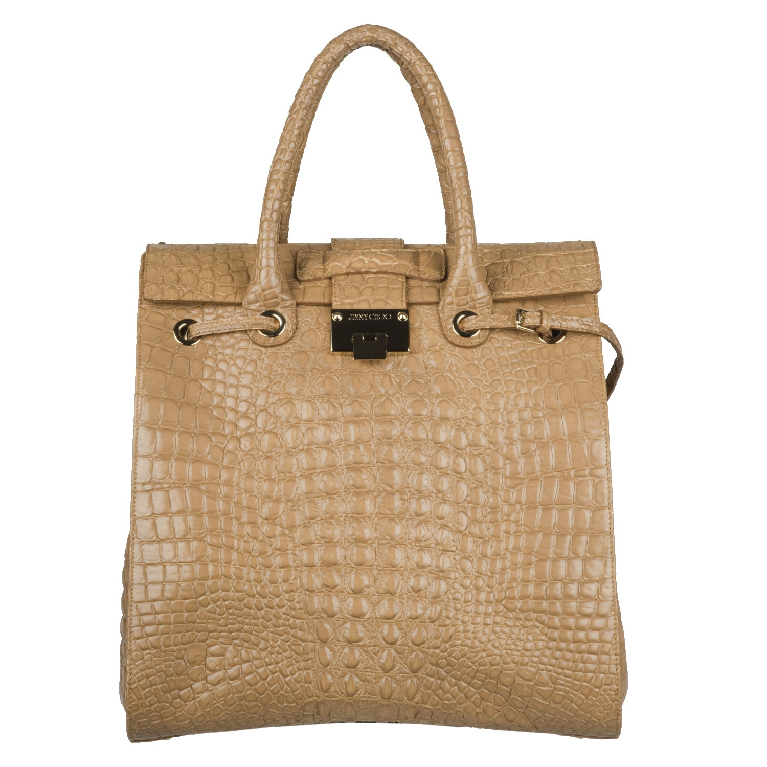 Jimmy Choo Rosabel Nude Handbag