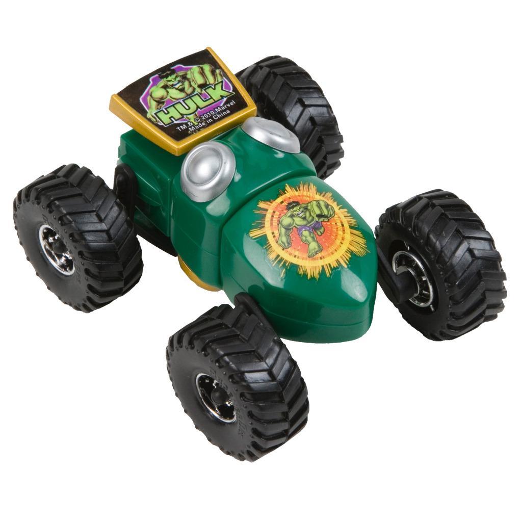 Marvel Regener8r 1:64 Scale Hulk Cruiser Toy Car