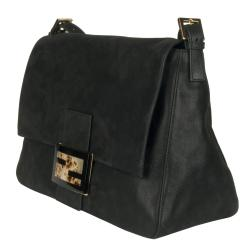 Fendi Forever Black Big Mama Shoulder Bag
