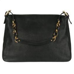 6fc5f56be30f Fendi Forever Black Big Mama Shoulder Bag on PopScreen