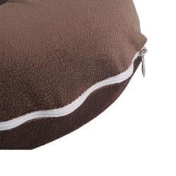 Comfortable Brown U shaped Neck Travel Pillow