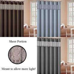 Rania Faux Silk Shower Curtain