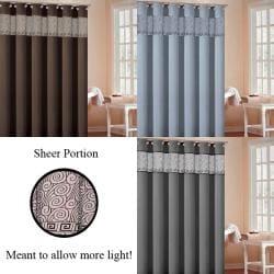 Rania Faux Silk Shower Curtain