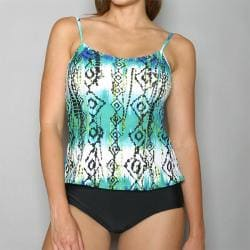 Island World Apparel Bohemian Art Swimsuit One-piece Swimsuit