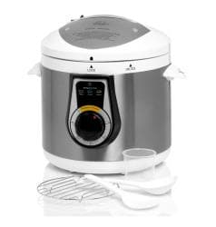 Wolfgang Puck Elite White Heavy Duty 7-quart Electric Pressure Cooker (Refurbished)