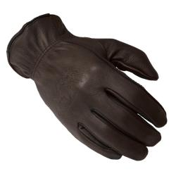 Daxx Men's Top Grain Deerskin Leather Bird Dog Wildlife Print Gloves
