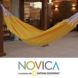 Cotton 'Ipanema Sands' Hammock (Brazil)