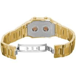 Philip Stein Women's 'Signature' Yellow Goldtone Watch