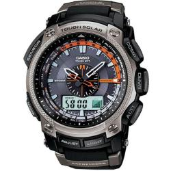 Casio Men's 'Pathfinder' Triple-sensor Solar Power Atomic Watch