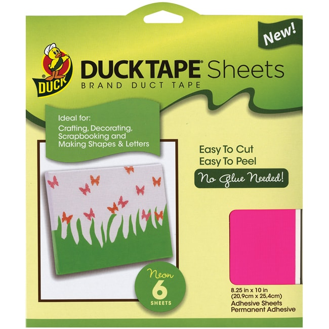 Duct Tape Sheets Multipack (Pack of 6)