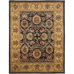 Safavieh Handmade Delhi Navy/ Gold Wool Rug (9'6 x 13'6)