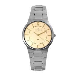 Men's Skagen Steel Slim Watch