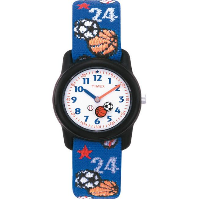 Timex T752019J Kid's Sports-theme Stretch Band Watch
