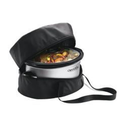 Crock Pot 6-qt Oval Programmable Slow Cooker with Little Dipper and Travel Bag