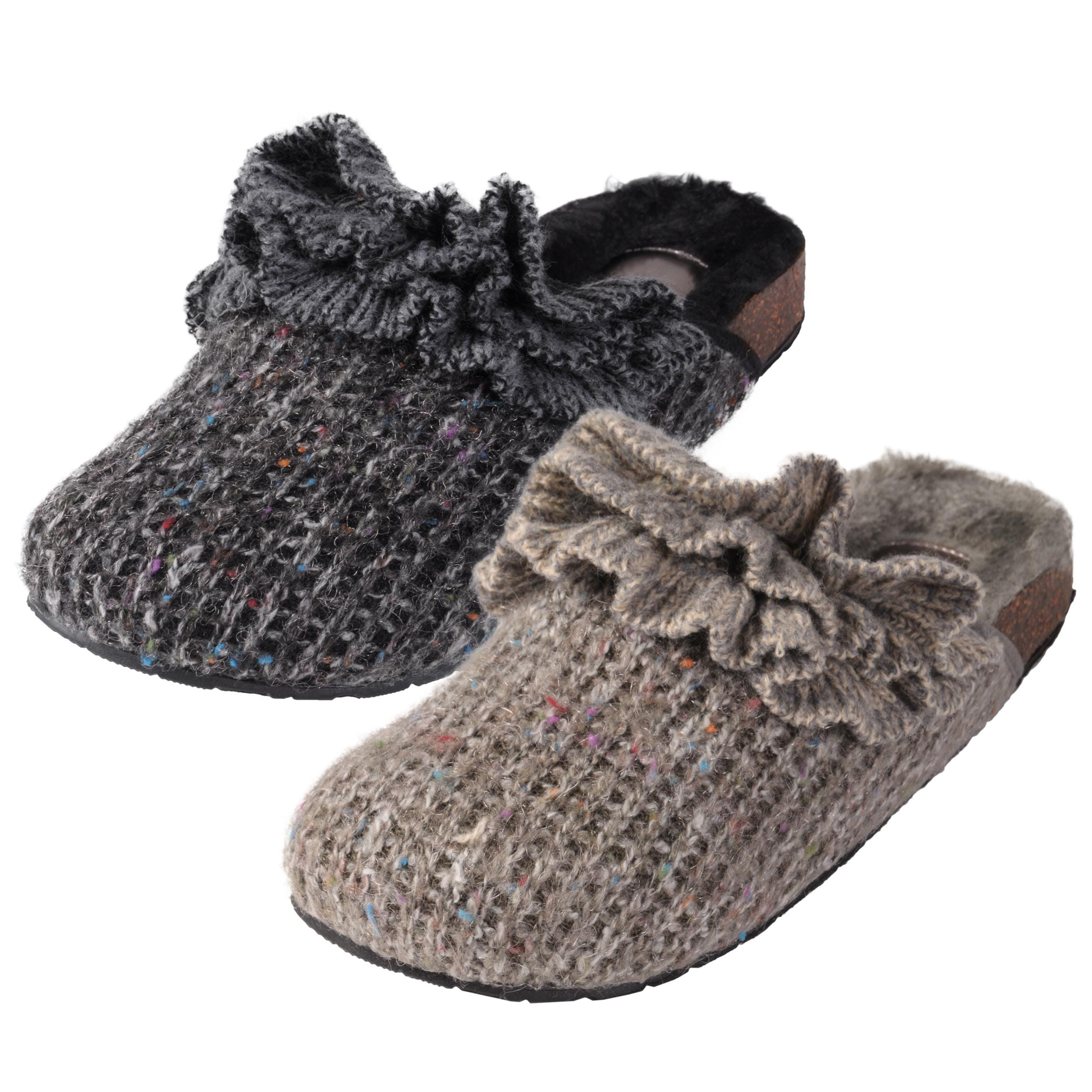 Madden Girl by Steve Madden Women's 'Boommerr' Knitted Slippers