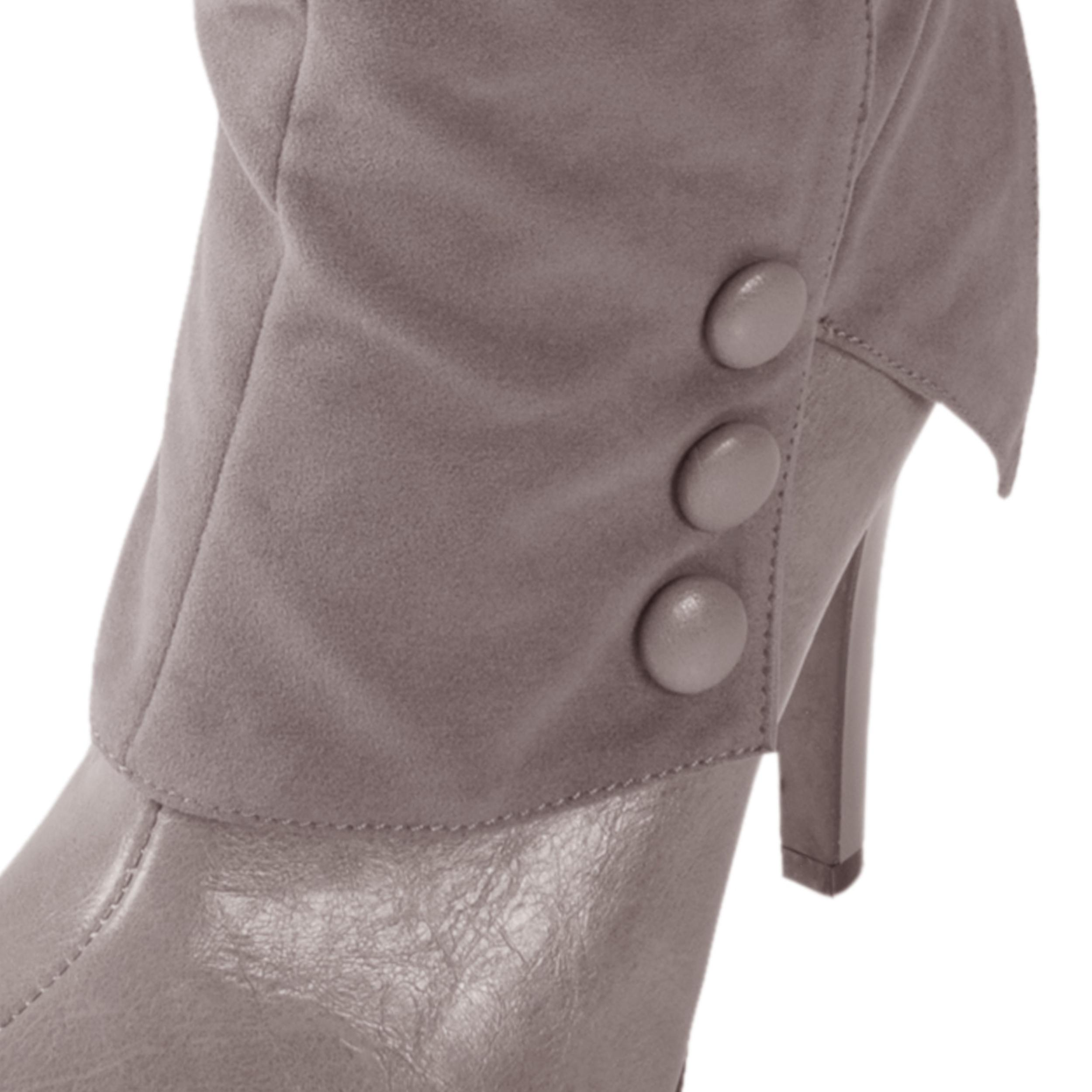 Journee Collection Women's 'Savior-51' Cinched Heeled Boots