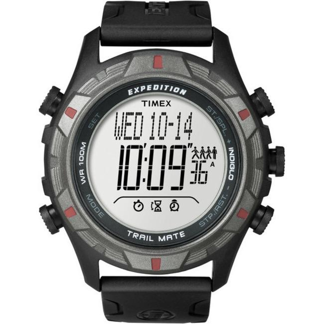 Timex T498459J Men's Expedition Trail Mate Black/ Grey Watch