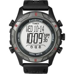 Timex Men's T49845 Expedition Trail Mate Black/Grey Watch