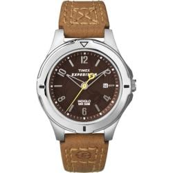Timex Women's T49856 Expedition Field Brown Dial Burnt Sienna Leather Strap Watch
