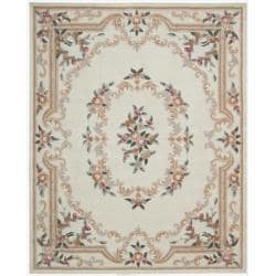 Hand-tufted Ivory Overland Street Rug (7&#39;3 x 9&#39;3)