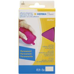Dotto Pink Permanent Adhesive Dispenser