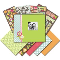 Fruit and Flower Mega Scrapbook Kit