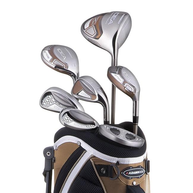 Adams Women's A7OS 7-piece Bronze Golf Starter Set