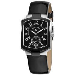 Philip Stein Women's Classic Black Leather Strap Watch