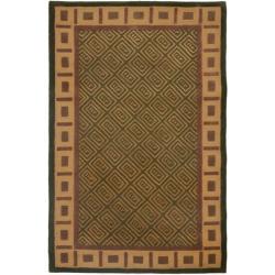 Safavieh Handmade Passage Green Wool Rug (8'3 x 11')