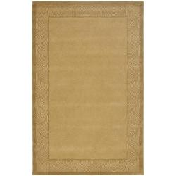 Safavieh Handmade New Zealand Sunrise Light Gold Rug (8'3 x 11')