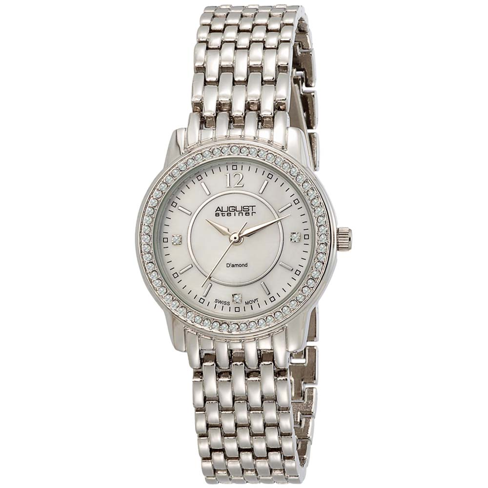 Overstock.com August Steiner Women's Dazzling Diamond Bracelet Watch at Sears.com