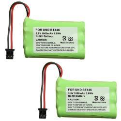 Ni-MH Cordless Phone Battery for Uniden BT-446 (Pack of 2)