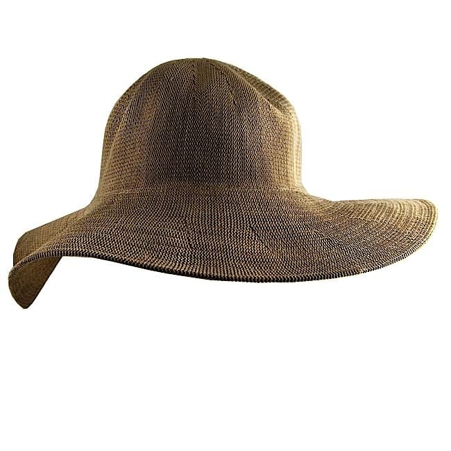 H2W Beige One Size Fits Most Floppy Hat