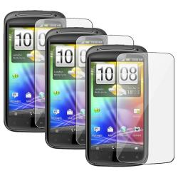 Screen Protector for HTC Sensation (Pack of 3)