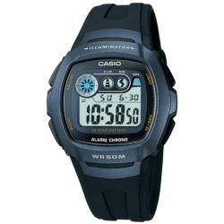 Casio Men's Blue Case Illuminator II Alarm Digital Sport Watch