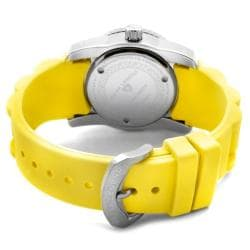 Swiss Legend Women's Commander Yellow Silicon Watch