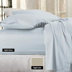 Sealy Cotton Sateen 300 Thread Count 6-piece Sheet Set