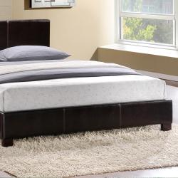 Hermes Dark Brown King-size Platform Bed