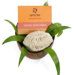 Natural Khus (Vetiver) Loofah (India)
