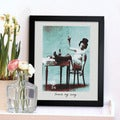 Oliver Gal 'Excuse My Swag' Framed Print Art