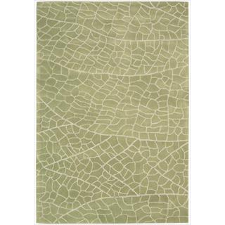 Hand-tufted Escalade Kiwi Blend Rug (8' x 10'6)