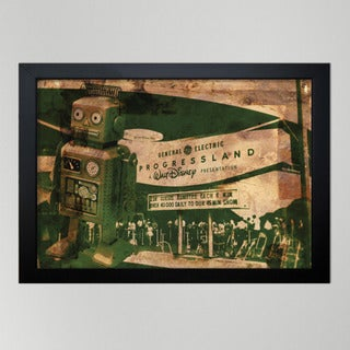 Oliver Gal 'Progressland' Canvas Print Art