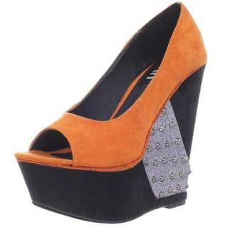 Fahrenheit Women's Selita' Wedge Pumps