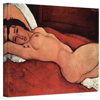 Amedeo Modigliani 'Portrait of a Nude' Wrapped Canvas Art